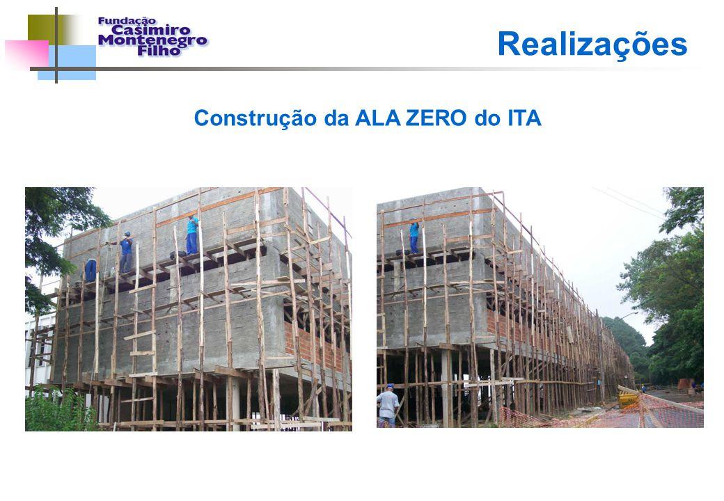 Construção da ALA ZERO do ITA