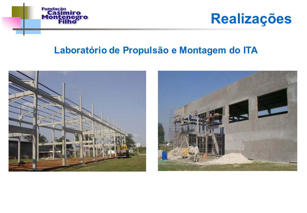 Laboratório de Propulsão e Montagem do ITA