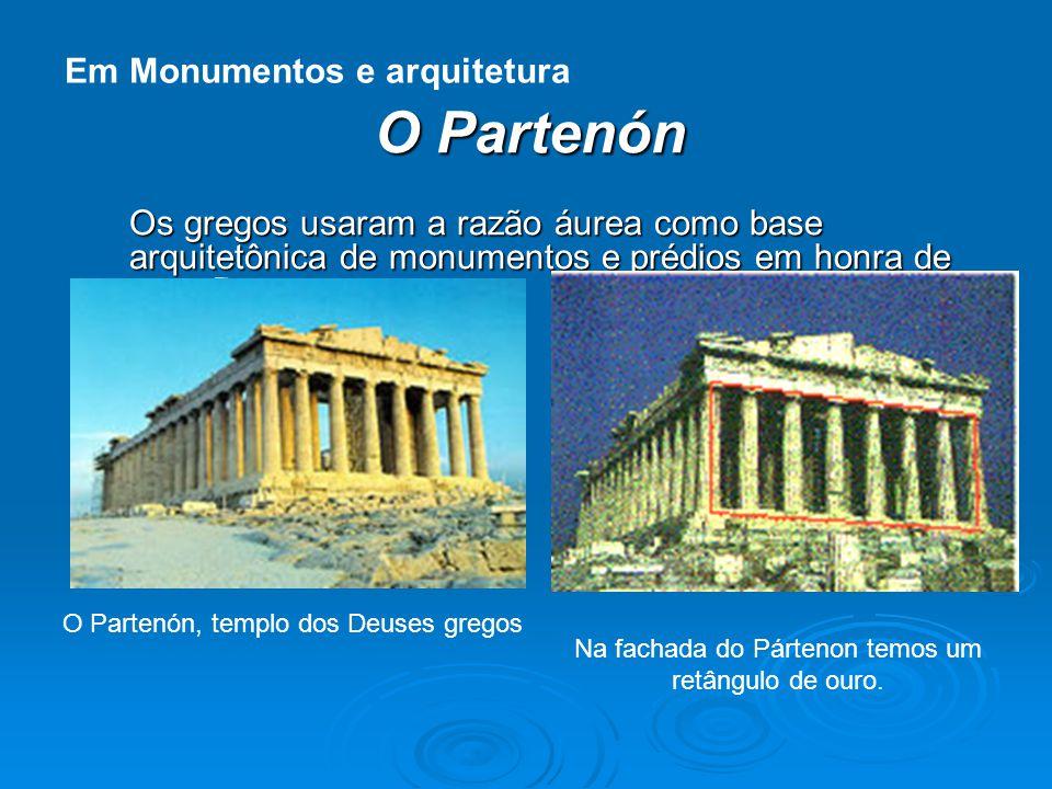 O Partenón Em Monumentos e arquitetura