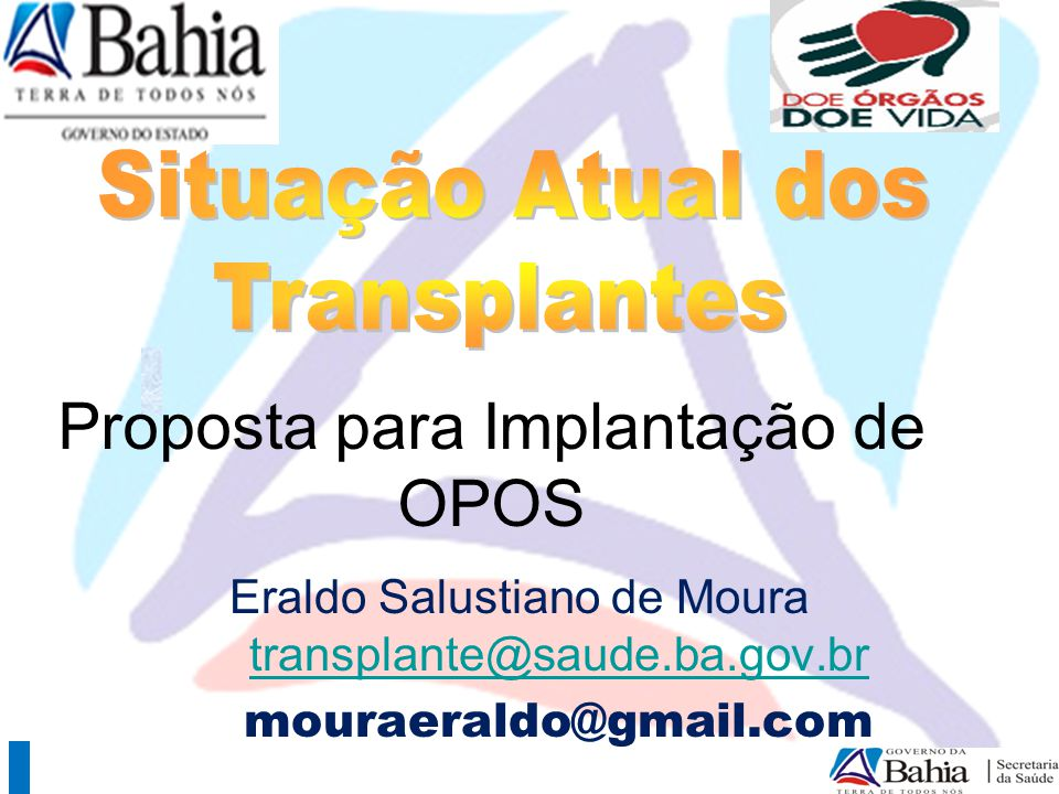 Proposta para Implantação de OPOS