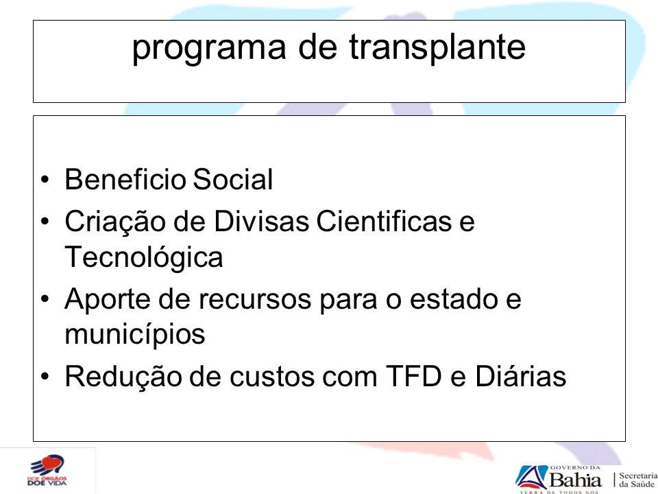 programa de transplante