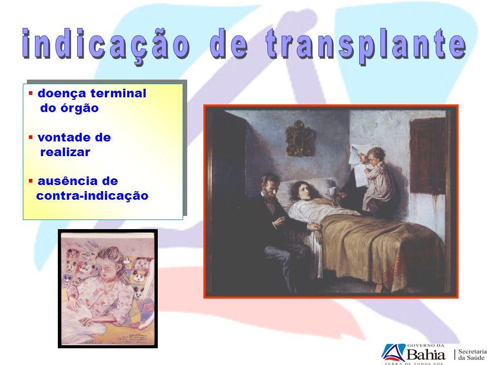 indicação de transplante