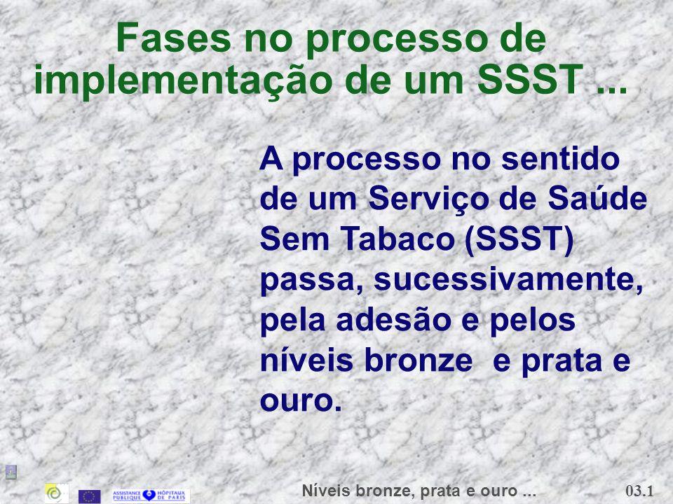 Fases no processo de implementação de um SSST ...