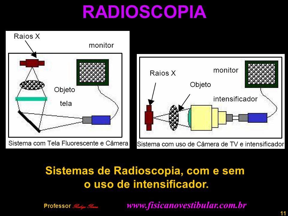 RADIOSCOPIA Sistemas de Radioscopia, com e sem