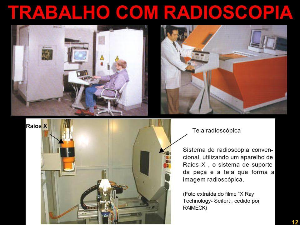 TRABALHO COM RADIOSCOPIA
