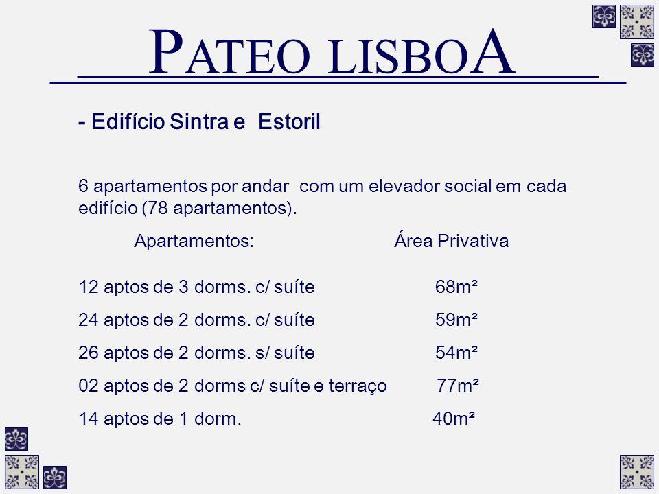 PATEO LISBOA - Edifício Sintra e Estoril