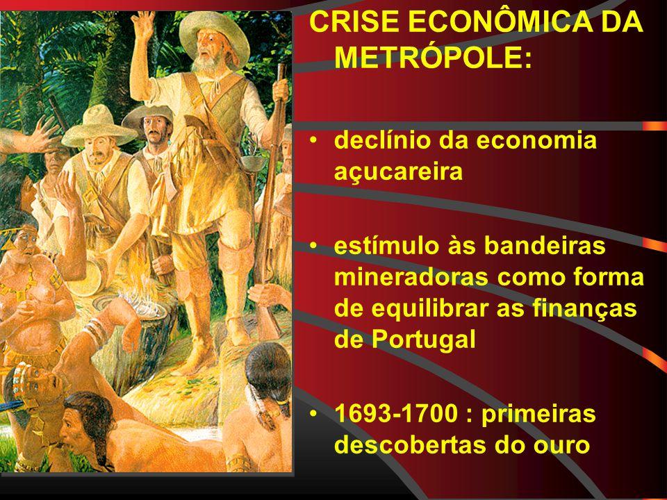 CRISE ECONÔMICA DA METRÓPOLE: