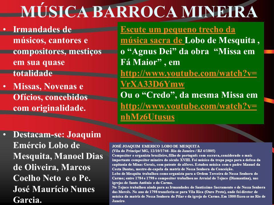 MÚSICA BARROCA MINEIRA