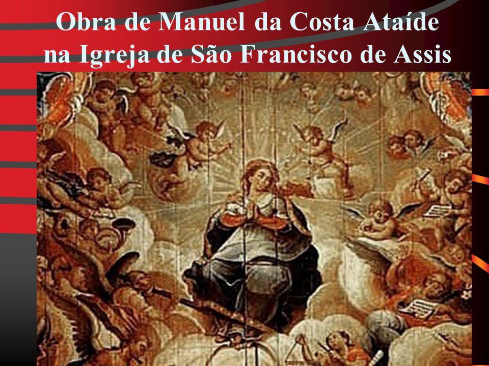 Obra de Manuel da Costa Ataíde na Igreja de São Francisco de Assis