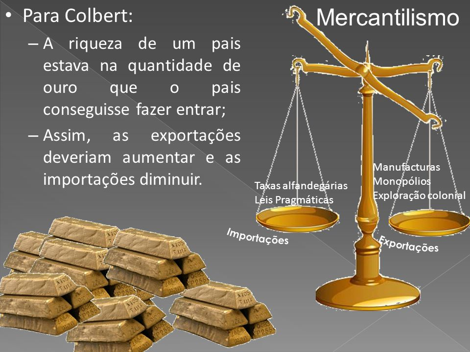 Mercantilismo Para Colbert: