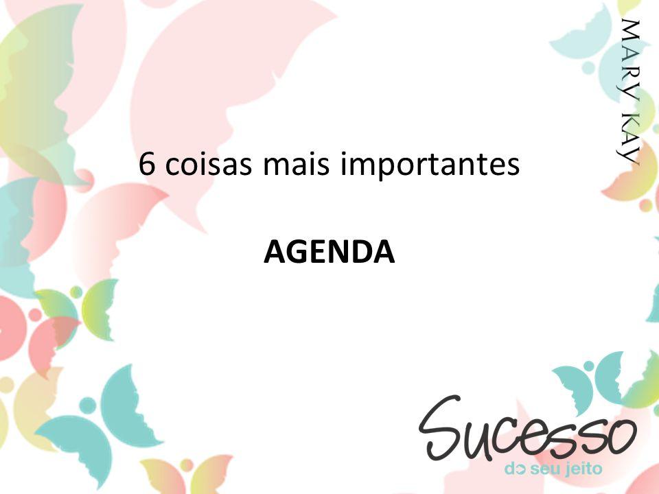6 coisas mais importantes AGENDA