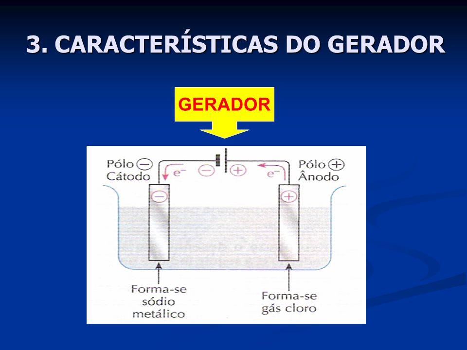 3. CARACTERÍSTICAS DO GERADOR