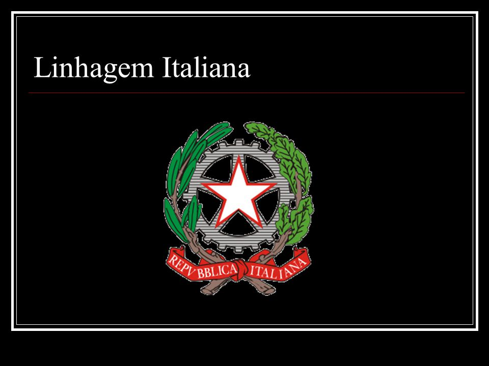 Linhagem Italiana