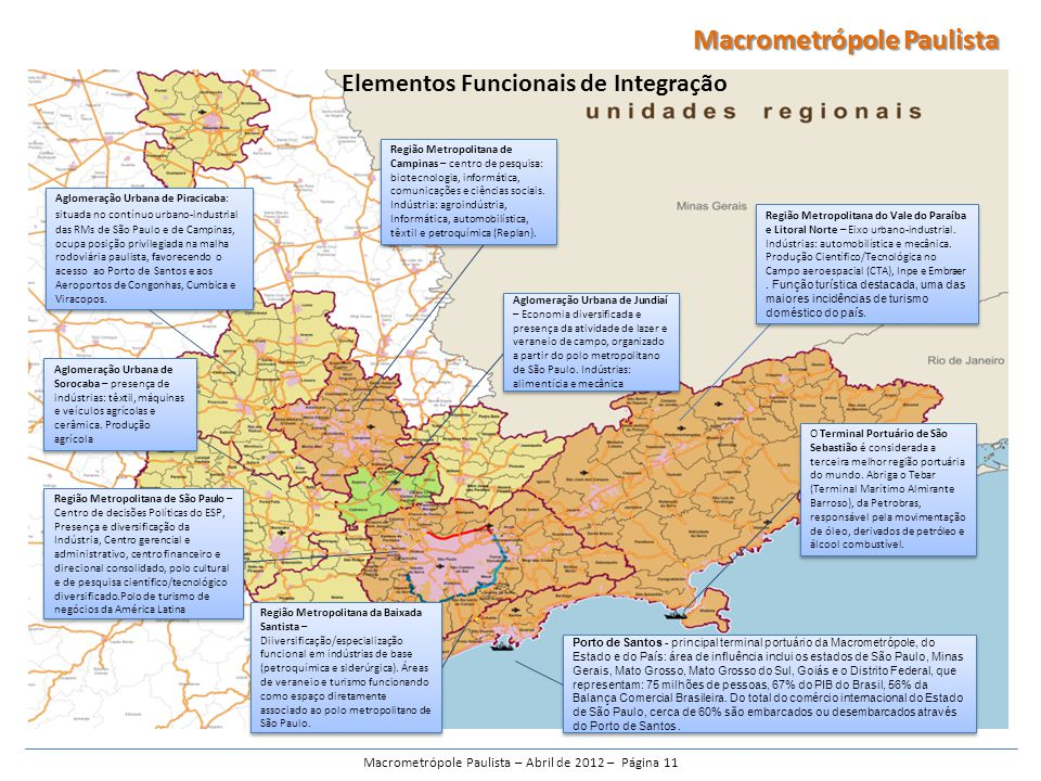 Macrometrópole Paulista – Abril de 2012 – Página 11