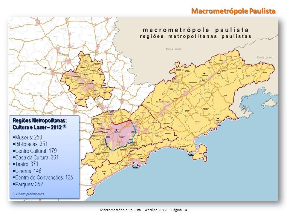 Macrometrópole Paulista – Abril de 2012 – Página 14