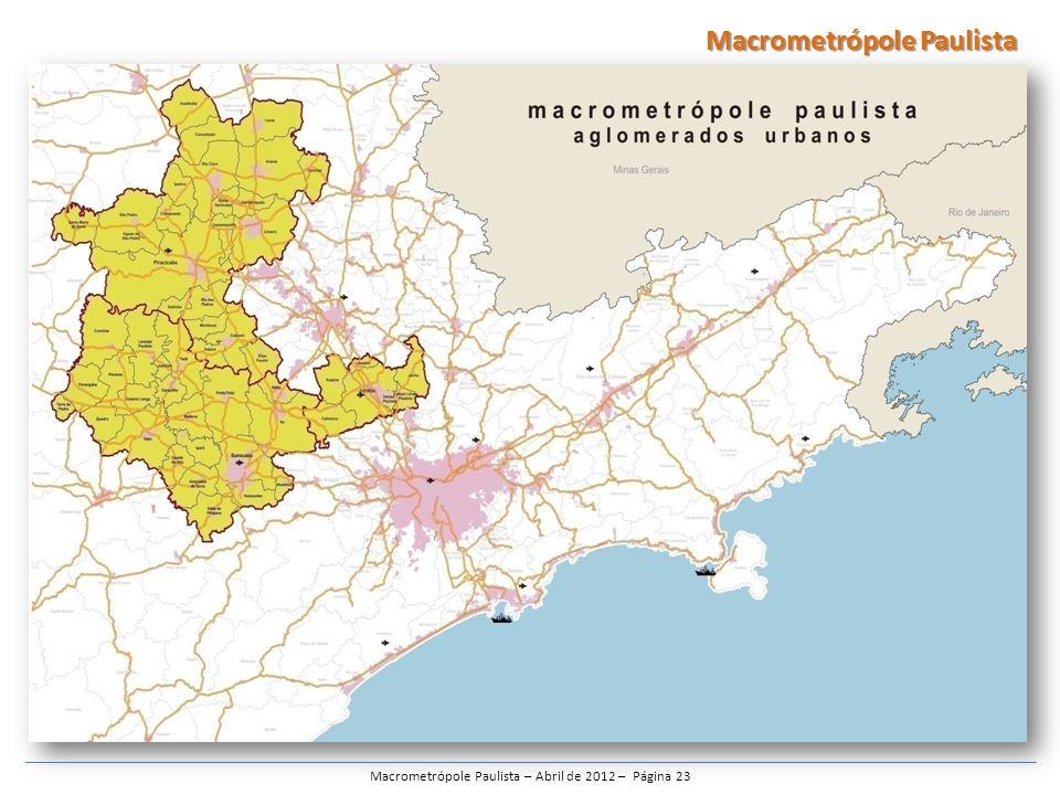 Macrometrópole Paulista – Abril de 2012 – Página 23