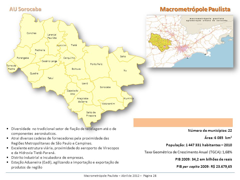 Macrometrópole Paulista – Abril de 2012 – Página 28