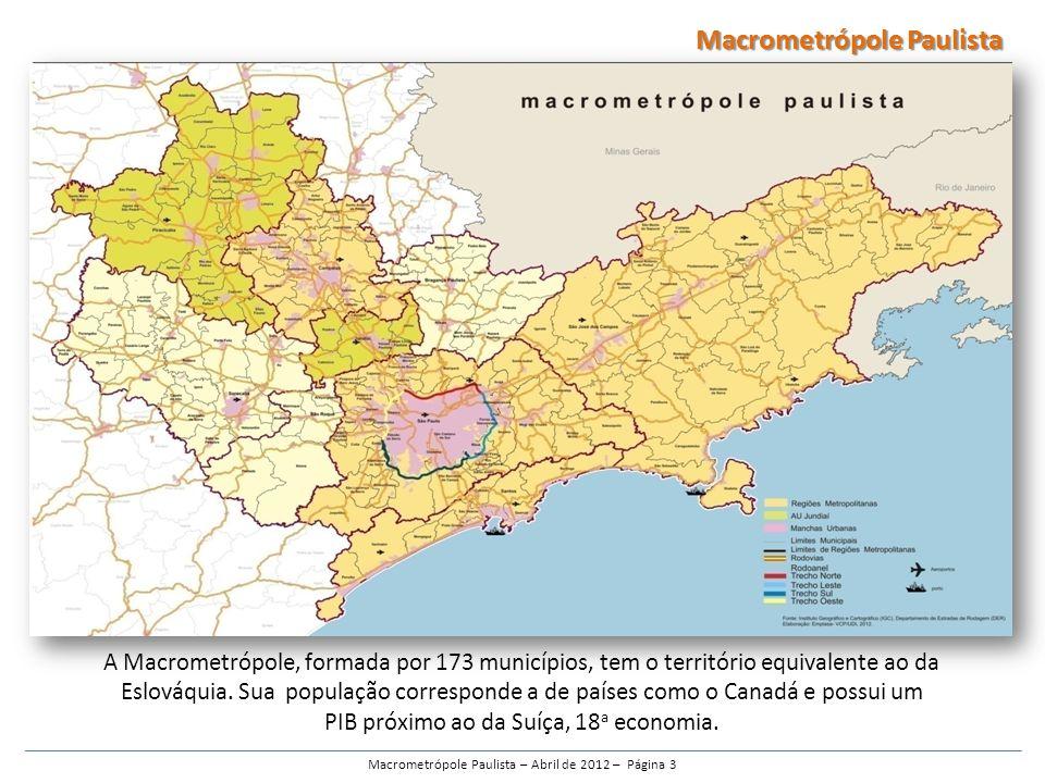 Macrometrópole Paulista – Abril de 2012 – Página 3