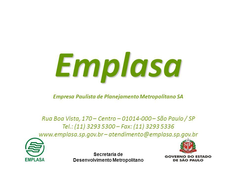 Emplasa Rua Boa Vista, 170 – Centro – 01014-000 – São Paulo / SP