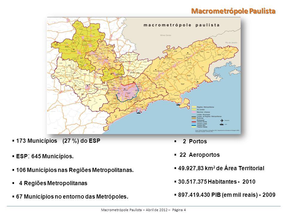 Macrometrópole Paulista – Abril de 2012 – Página 4
