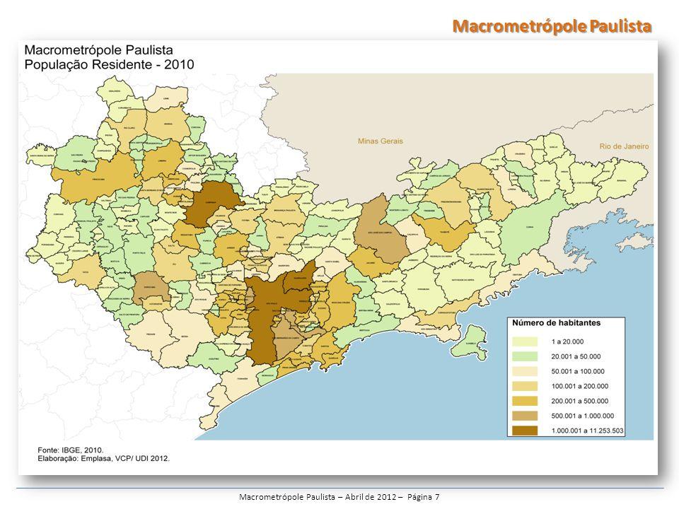 Macrometrópole Paulista – Abril de 2012 – Página 7
