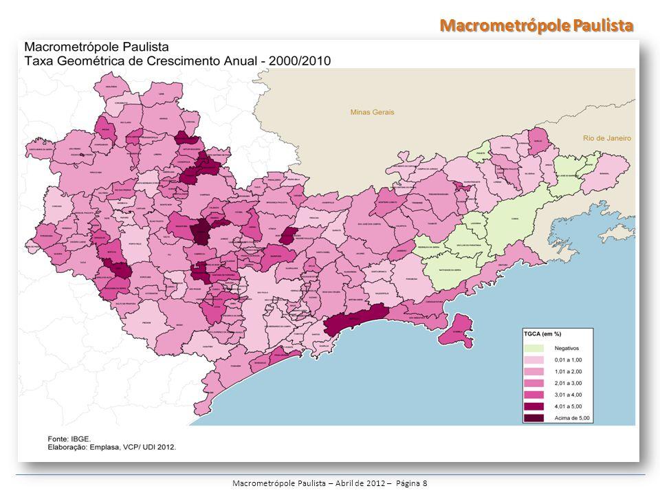 Macrometrópole Paulista – Abril de 2012 – Página 8