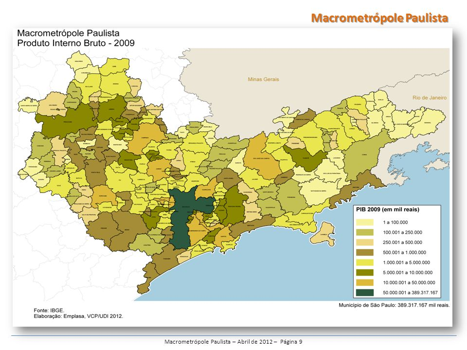 Macrometrópole Paulista – Abril de 2012 – Página 9