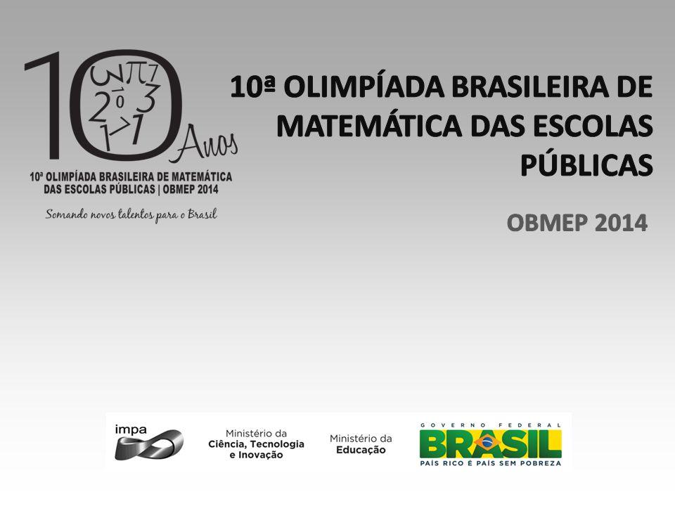 10ª OLIMPÍADA BRASILEIRA DE MATEMÁTICA DAS ESCOLAS PÚBLICAS