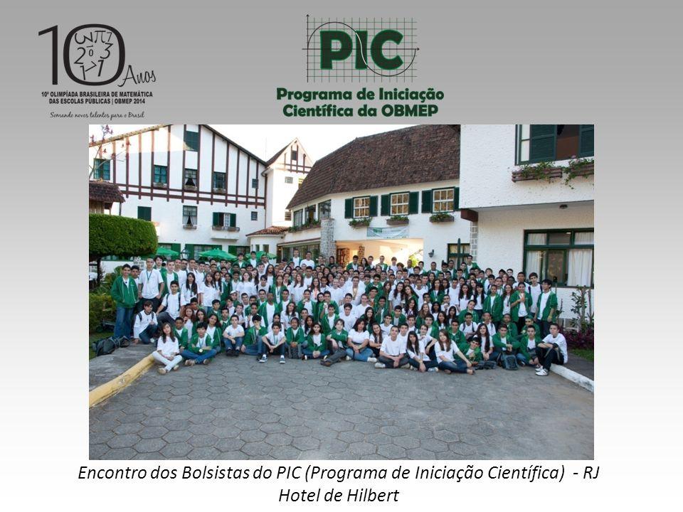 Encontro dos Bolsistas do PIC (Programa de Iniciação Científica) - RJ