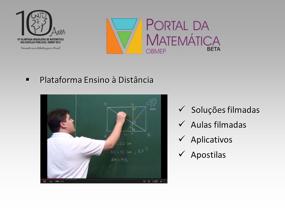 Plataforma Ensino à Distância