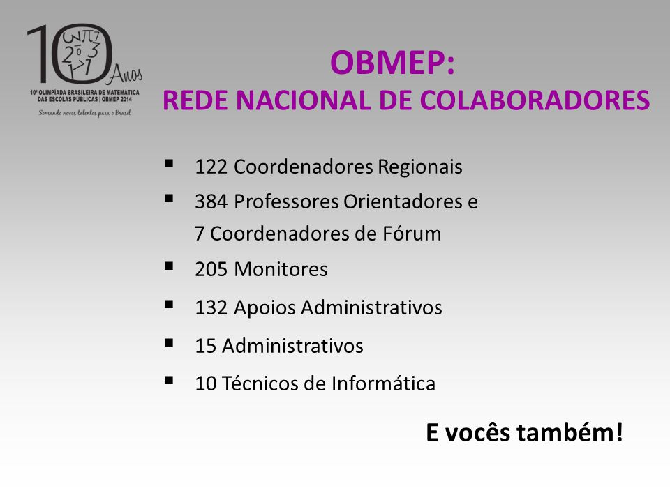 REDE NACIONAL DE COLABORADORES