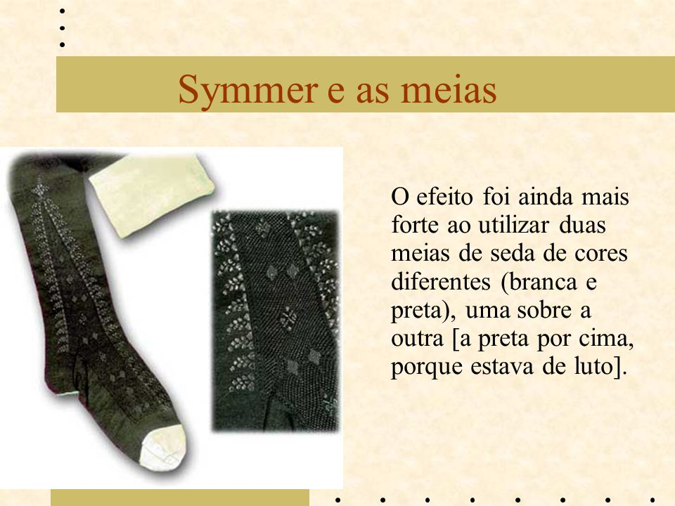 Symmer e as meias