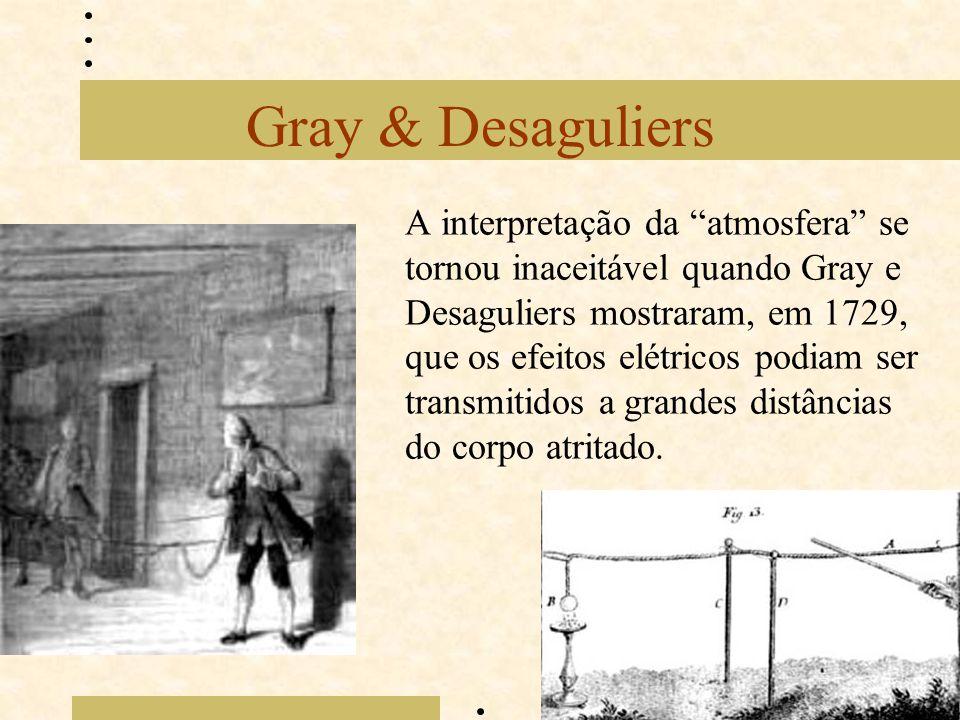 Gray & Desaguliers