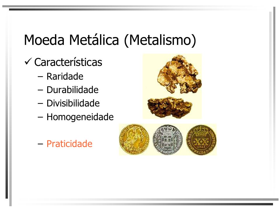 Moeda Metálica (Metalismo)