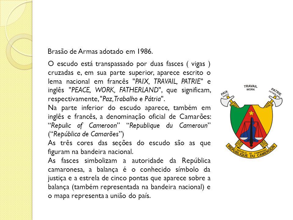 Brasão de Armas adotado em 1986.