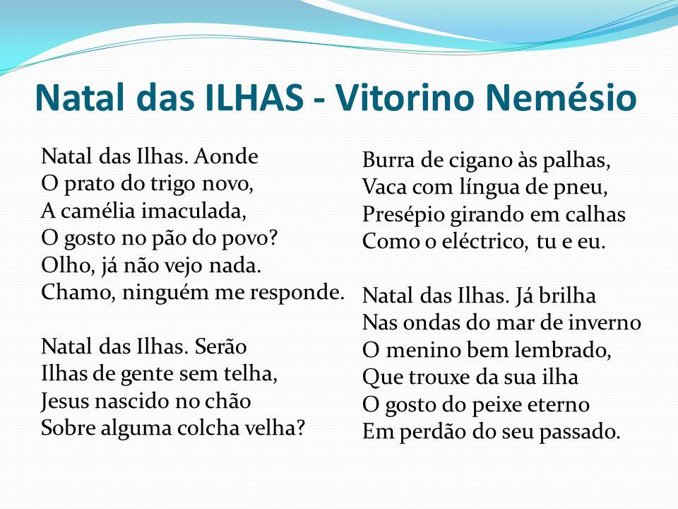 Natal das ILHAS - Vitorino Nemésio