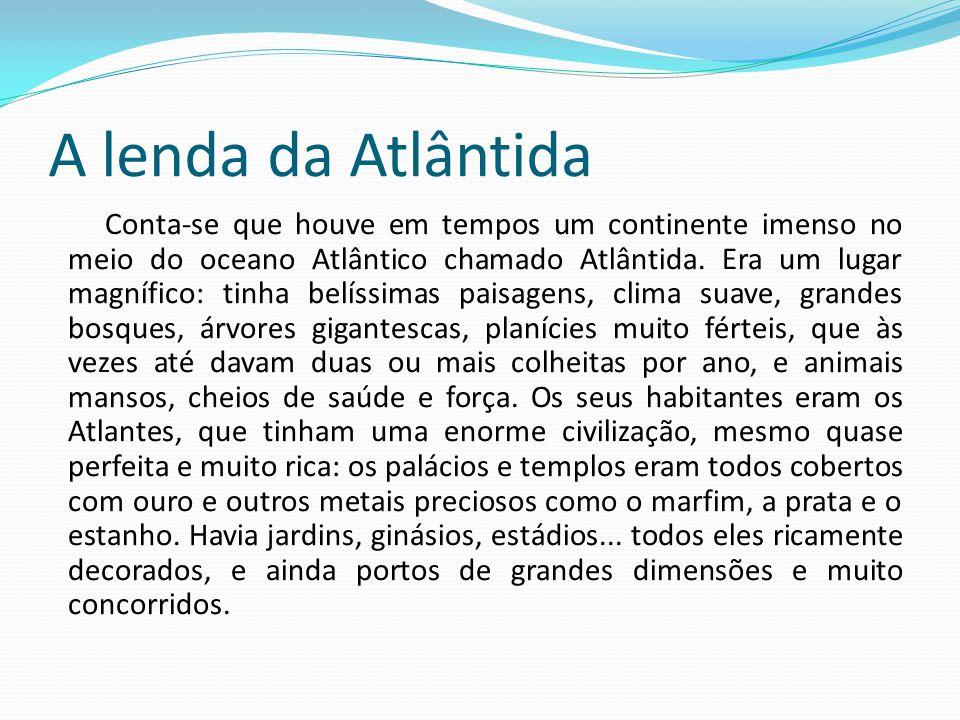 A lenda da Atlântida