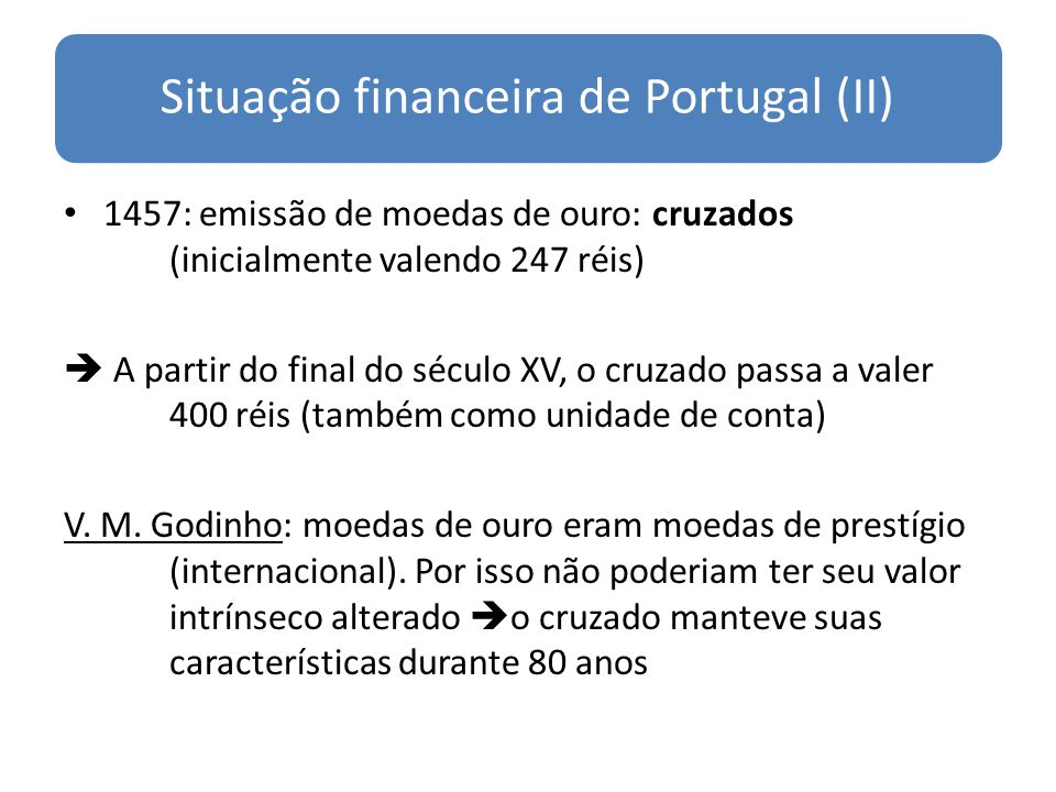 Situação financeira de Portugal (II)