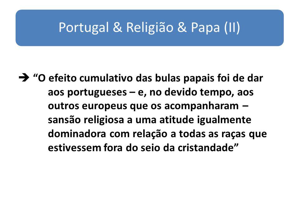 Portugal & Religião & Papa (II)