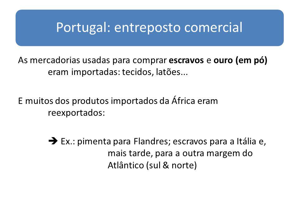 Portugal: entreposto comercial
