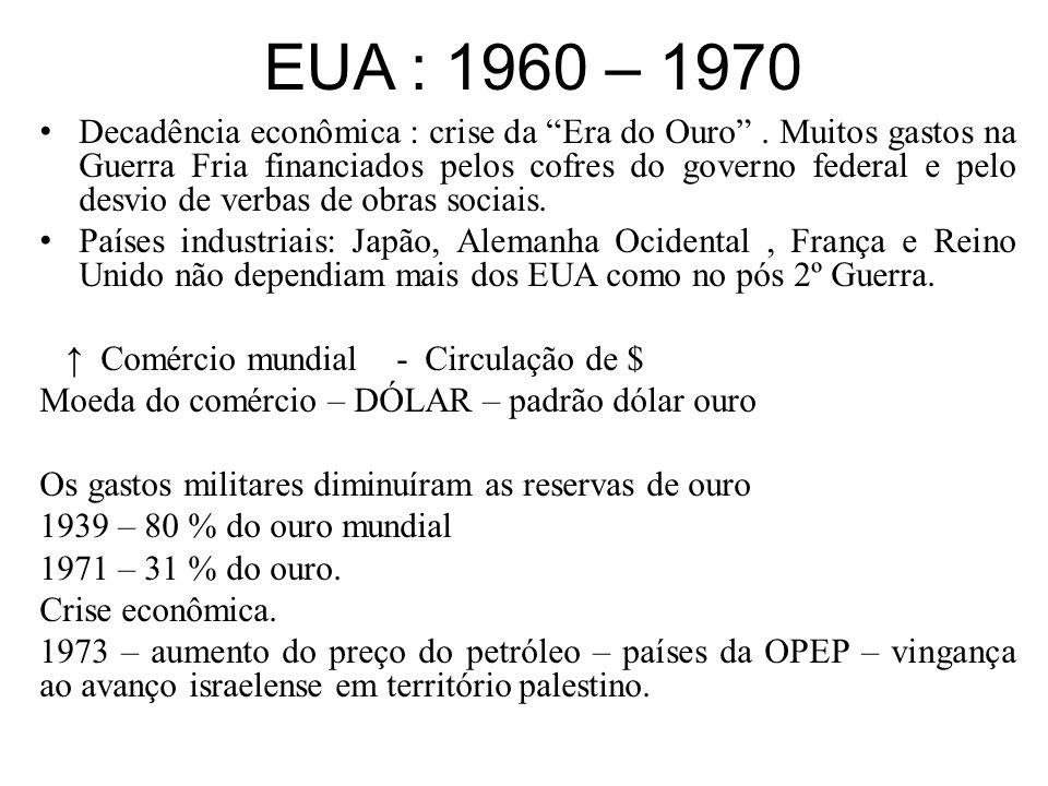 EUA : 1960 – 1970