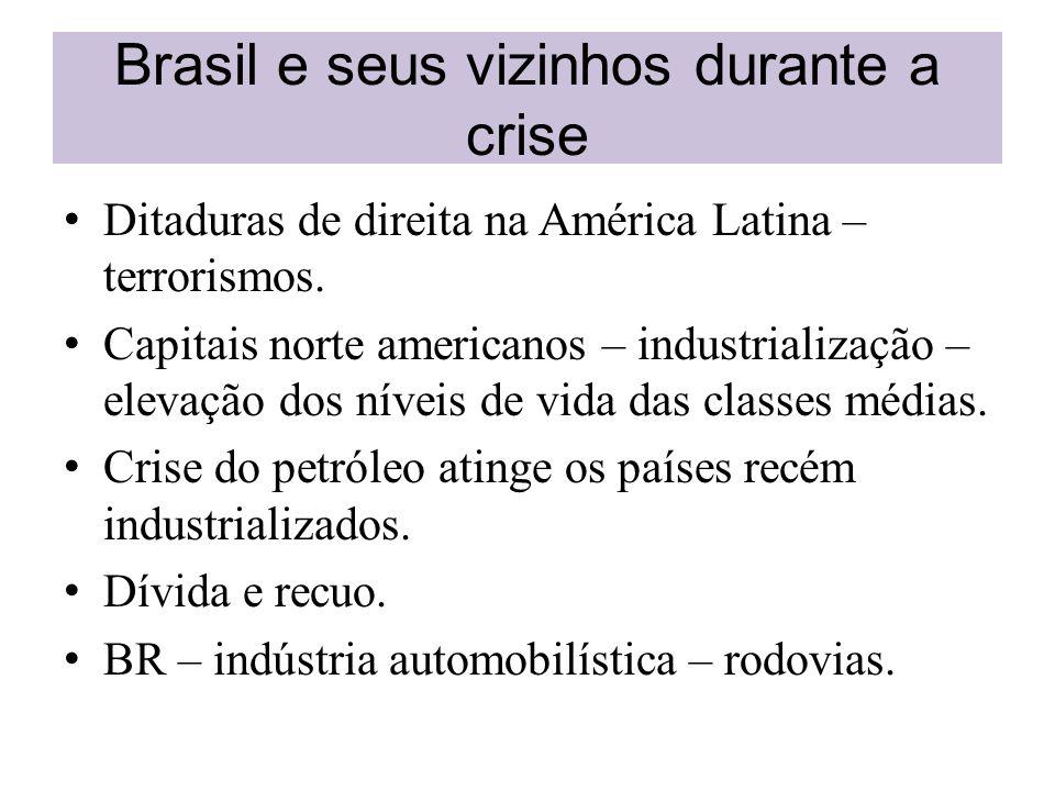 Brasil e seus vizinhos durante a crise