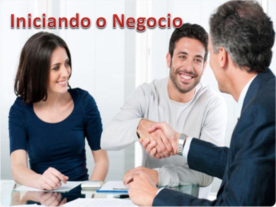 Iniciando o Negocio VOCÊ COMPRA UM PACOTE DE ADESÃO