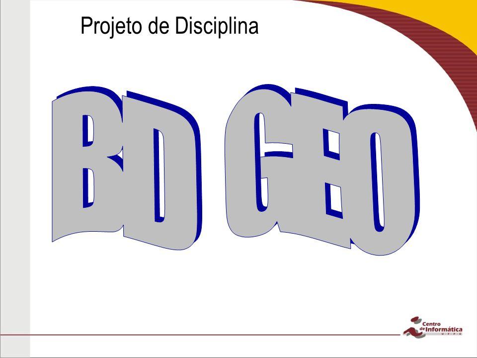 Projeto de Disciplina BD GEO