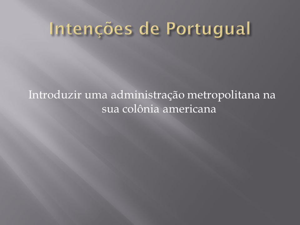 Intenções de Portugual