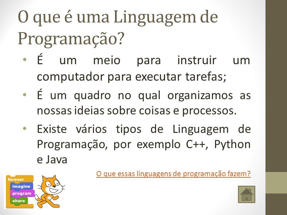 O que é uma Linguagem de Programação