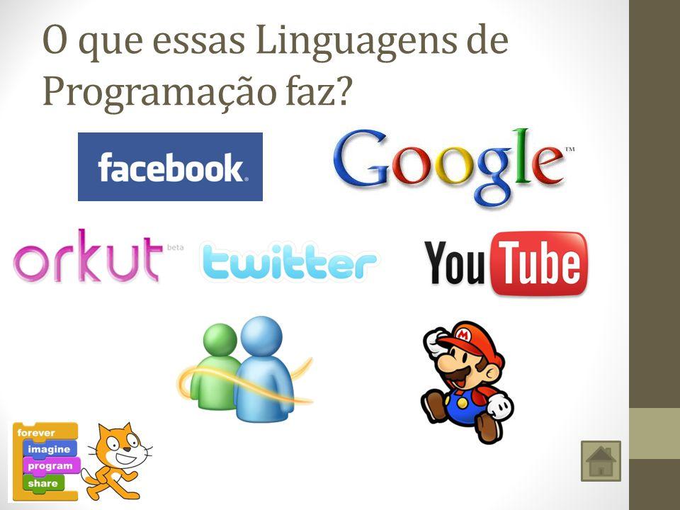 O que essas Linguagens de Programação faz