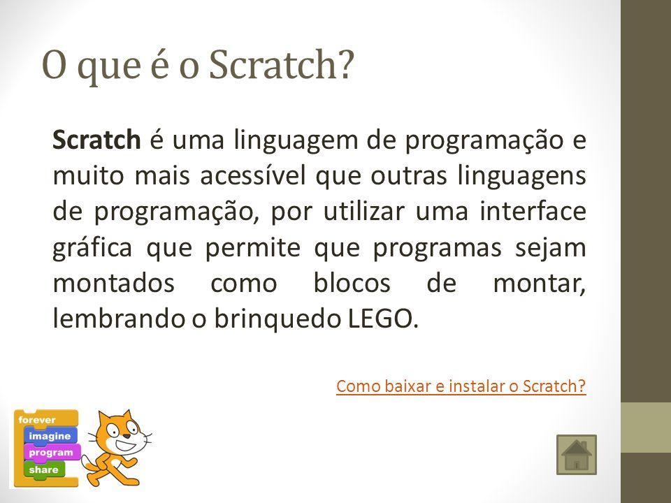 O que é o Scratch