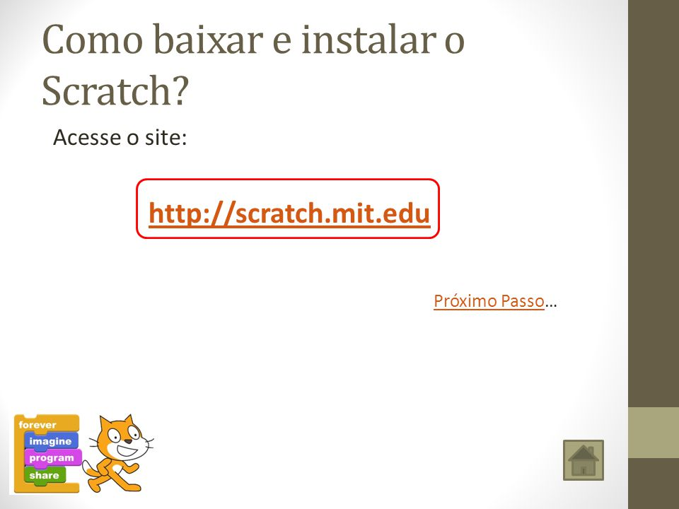 Como baixar e instalar o Scratch