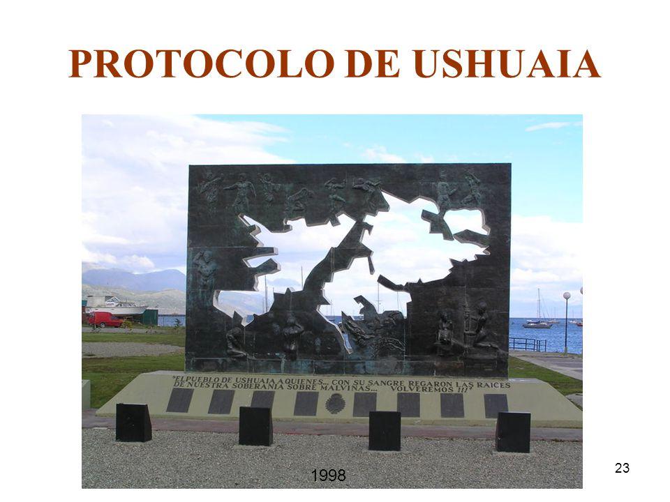 PROTOCOLO DE USHUAIA 1998